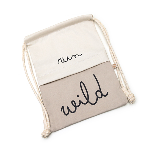 Bolsa Infantil Bag Run Wild - Cinza