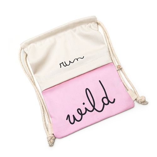 Bolsa Infantil Bag Run Wild - Rosa