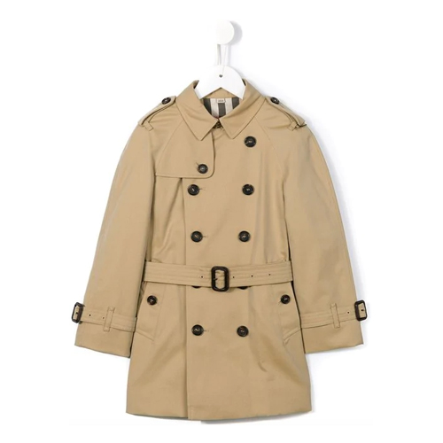 Trench coat com cinto - Burberry