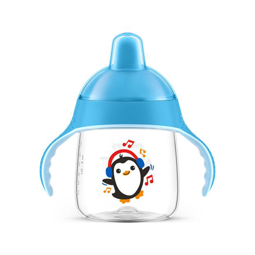 Copo Pinguim 260ml Avent Azul