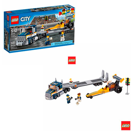 LEGO City - Transportador de Dragster