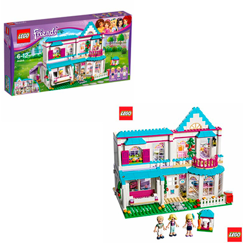 LEGO Friends - A Casa da Stephanie