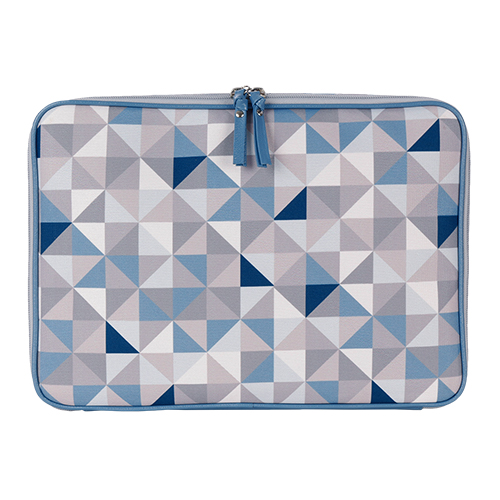 Pasta Notebook Geometric - Azul
